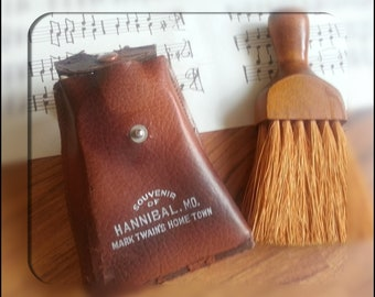 Souvenir Whisk Brush, Hannibal Mo.