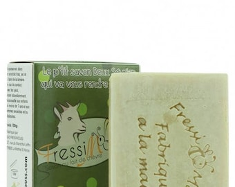 SOAP in cold with organic goat milk (40%) and Rosemary miel_Senteur
