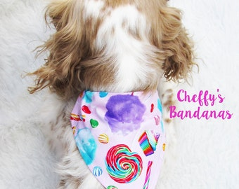 Sweet Tooth Treats Dog Collar Bandana