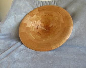 Segmented Bowl in Cherry