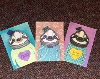 Cute Sloth Print
