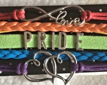 PRIDE LGBT awareness bracelet