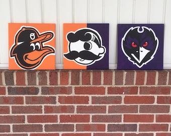 Baltimore Canvas Set