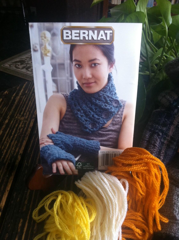 Bernat Soft Boucle Finishing Touches Crochet and Knitting Pattern ...