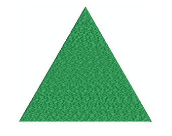 Machine Embroidery Design Instant Download - Equilateral Triangle 1
