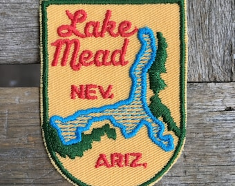 Lake Mead Nevada/Arizona Vintage Travel Patch by Voyager