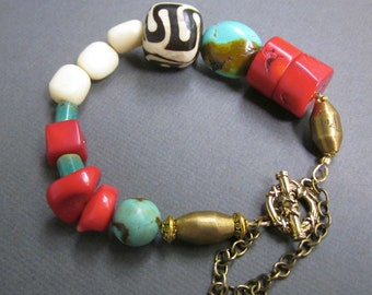 tribal coral - the zandra bracelet