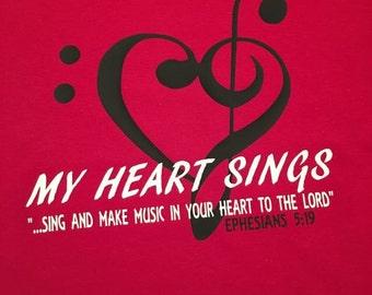 My Heart Sings ~ Ephesians 5:19