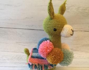 Crochet alpaca
