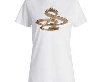 Musical Note Music Funny Vintage Ladies T-shirt a419f