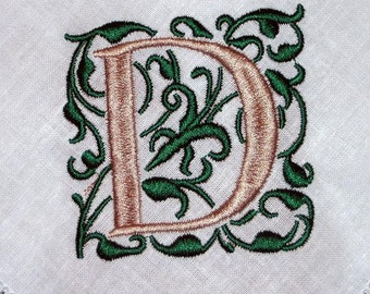 Dinner Napkin, Linen Napkins, hemstitched linen, monogrammed wedding gift, embroidered napkins,set of 6