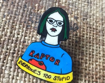 Enid  from Ghost World badge