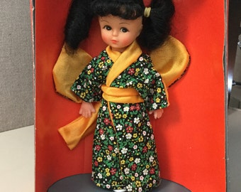 Vintage Uneeda Friends from Foreign Lands Miss Orient Doll