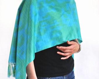 Mirage Karakum Ikat Silk Scarf - Sc23 (6013)