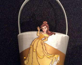 Belle Flower Girl Basket