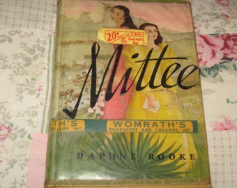 Vintage Book Mittee by Daphne Rooke 1952 HC/DJ not PC