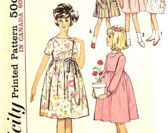 Sweet Girl's Dress Size 8 Simplicity 5429