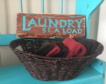 Laundry 5c a load