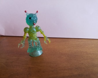Vintage Rubber Alien-Small  Made in Hong Kong