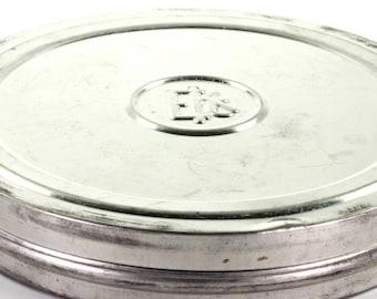 Eastman Kodak Company Metal Vintage Movie Reel Film Canister Tin With Film and Spool - EKC Tin
