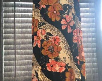 groovy mod maxi skirt!
