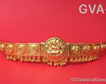 Hip chain/Waist Belt / Oddiyanam/ Kamarbandh for Bharatnatyam, Kuchipudi, Parties, Engagement, Weddings, Birthdays etc..