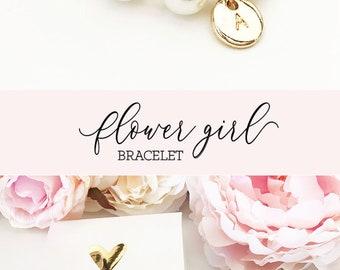 Flower Girl Bracelet Personalized Flower Girl Bracelet Pearl Flower Girl Gift Ideas Personalized Girls Bracelet (EB3277M) Bracelet for Girls