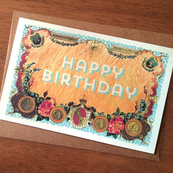 Unique Birthday Card Original Birthday Card Happy Birthday