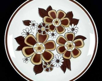 "Mikasa Cera Stone Susan Dinner Plates Vintage 1980's; 10""D Set of 6"