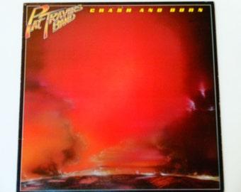 "Pat Travers Band - Crash and Burn - ""Born Under a Bad Sign"" - Hard Rock - Polydor Records 1980 - Vintage Vinyl LP Record Album"