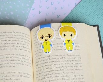 Large magnetic bookmark - Breaking bad