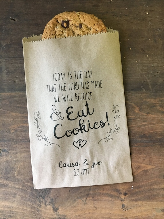 Wedding Favor Bags Christian Wedding Cookie Bags Candy