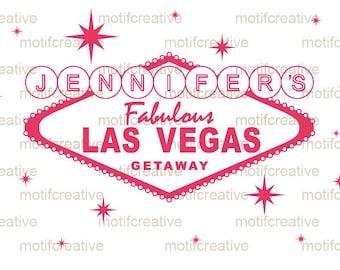 Bachelorette Vegas Shirt Design - DIY