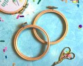 Hoop Set, embroidery hoop, hoopla, hoop art, cross stitch, sewing, sewing supplies