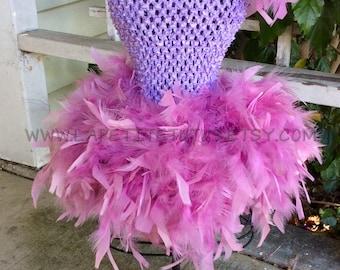 Lilac tutu, newborn tutu, feather skirt, tutu skirt, tutu, photo prop, baby clothing, princess tutu, angel tutu, baby photo prop, baby