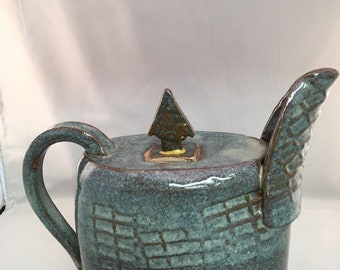 Large Handmade Pitcher (decorative only)