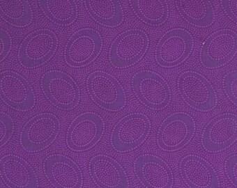 Aboriginal Dot in PURPLE  / Kaffe Fassett fabric 1 yard GP71 / Cotton Quilting fabric Fabric / Quilting Fabric Craft and Apparel fabric
