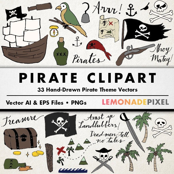 Pirate clipart pirate party decorations instant download pirate pirate clipart pirate party decorations instant download pirate clip art party theme pirate vector pirate ship commercial use from lemonadepixel on stopboris Image collections