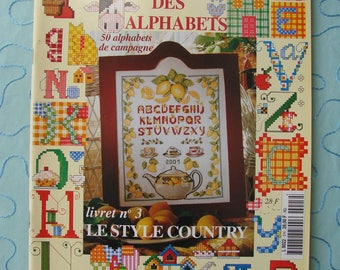 "Review embroidery ""Encyclopedia of alphabets"" Prima Donna, embroidery."