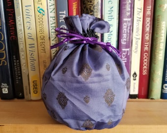 My Pretty Dice Bag - Purple Silk Edition