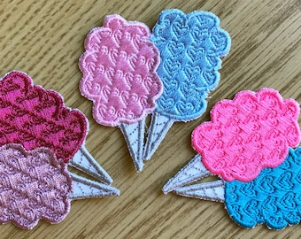Cotton Candy Iron-On Patch