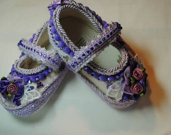Larrisa Girl's Baby Shoes 9-12 months