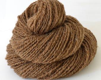 Handspun Yarn - Manx Loaghtan Wool -  1.75oz, 190yd, WPI 17