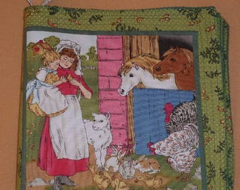 "Children's Book of Pure Cotton ""Once Upon a farm"""
