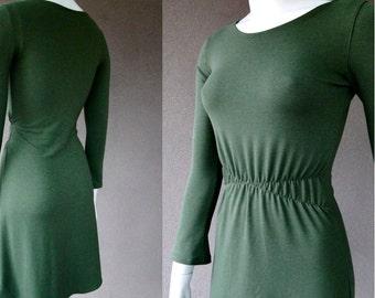 Organic cotton tunic dress,  dress, fitted cotton tunic dress,  organic tunic, handmade organic clothes