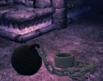Crochet Pattern ~ Chain and Shackles ~ Crochet Pattern