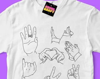 방탄소년단 BTS Jimin 지민 Small Hands Minimalist Unisex Kpop Shirt | bts kpop | bts | bts shirt