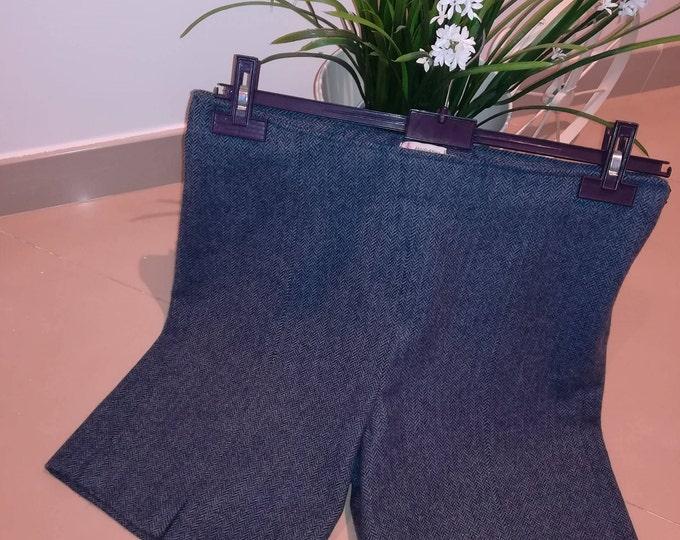 Custom shorts, shorts 100% wool, farm shorts, Handmade in Portugal, women clothing, winter clothing, winter shorts, women's shorts