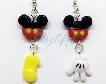 Mickey Mouse Earrings - Jewelry