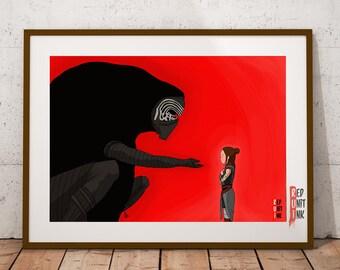 Spirited away Kylo Ren - (A3) Print